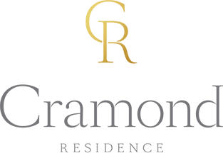 Cramond Residence logo -monogram version