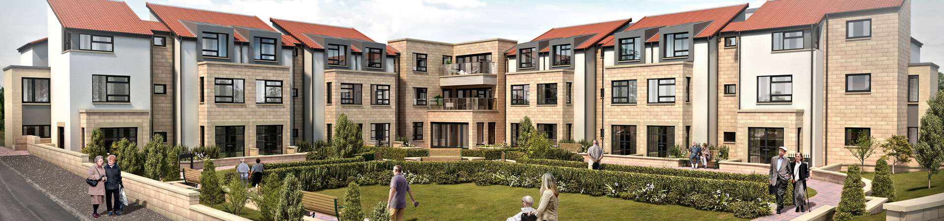 CGI image of Cramond Residence - care home in Edinburgh