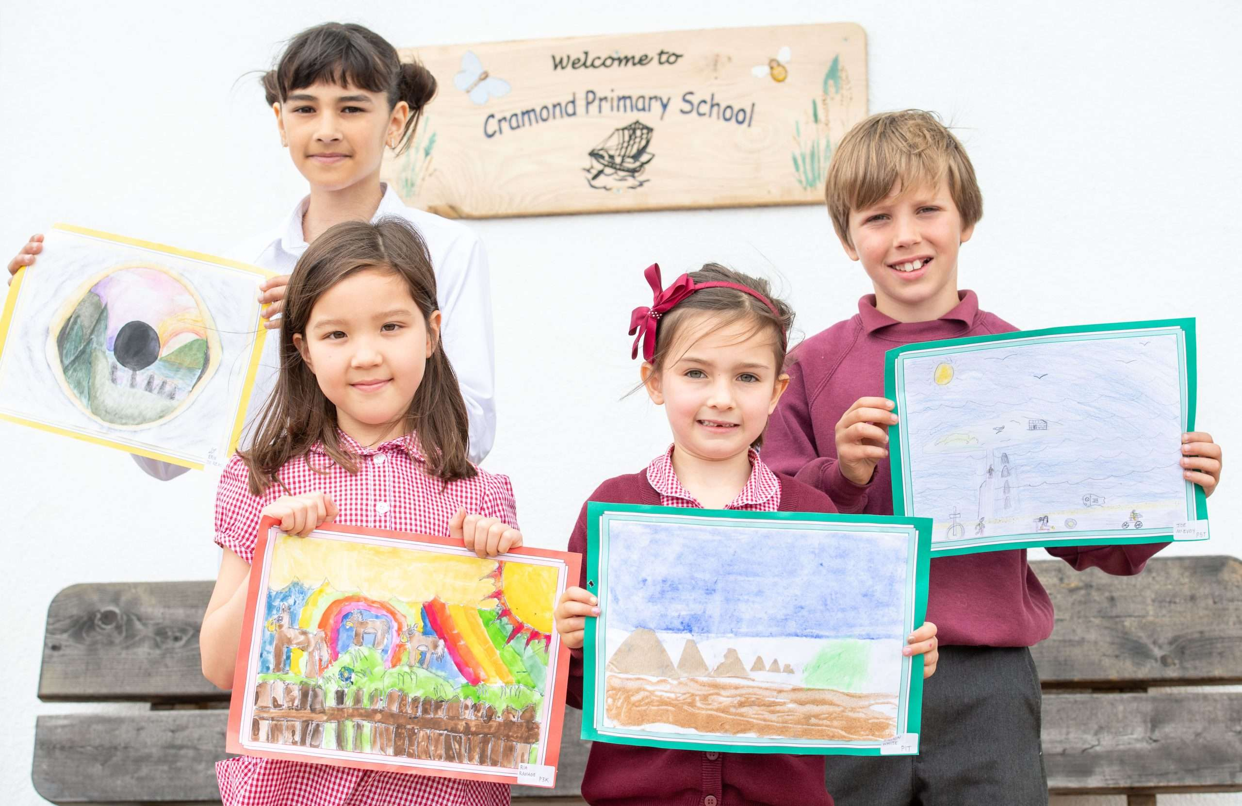 Primary One Pupil Wins Top Prize in our Art Competition