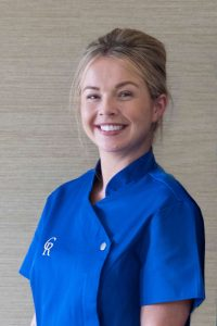smiling nurse at Edinburgh Care Home