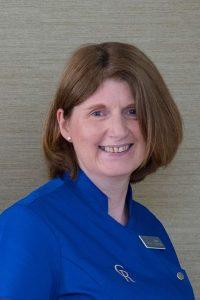 a nurse at Cramond Residence in Edinburgh
