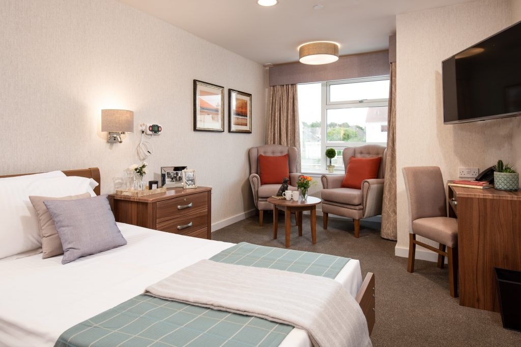 a care home in Edinburgh with on-site hair and beauty studio