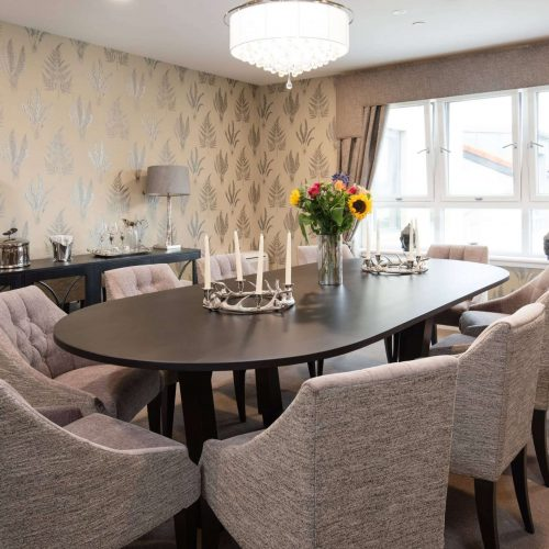 Private Dining Room at Cramond Residence