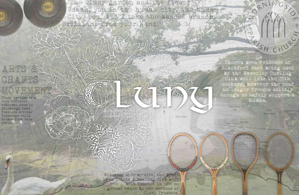 Cluny Edinburgh Luxury Care Home themed room mood board
