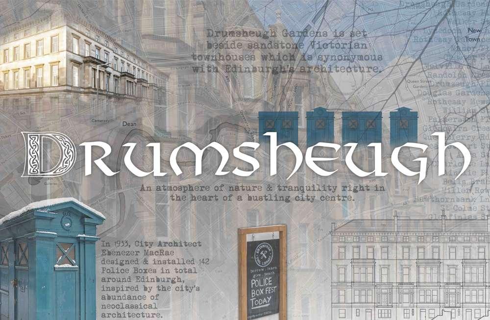Drumsheigh Hills Edinburgh Luxury Care Home themed room mood board