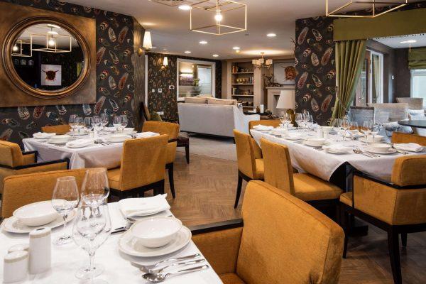 Dining room Edinburgh Care Home
