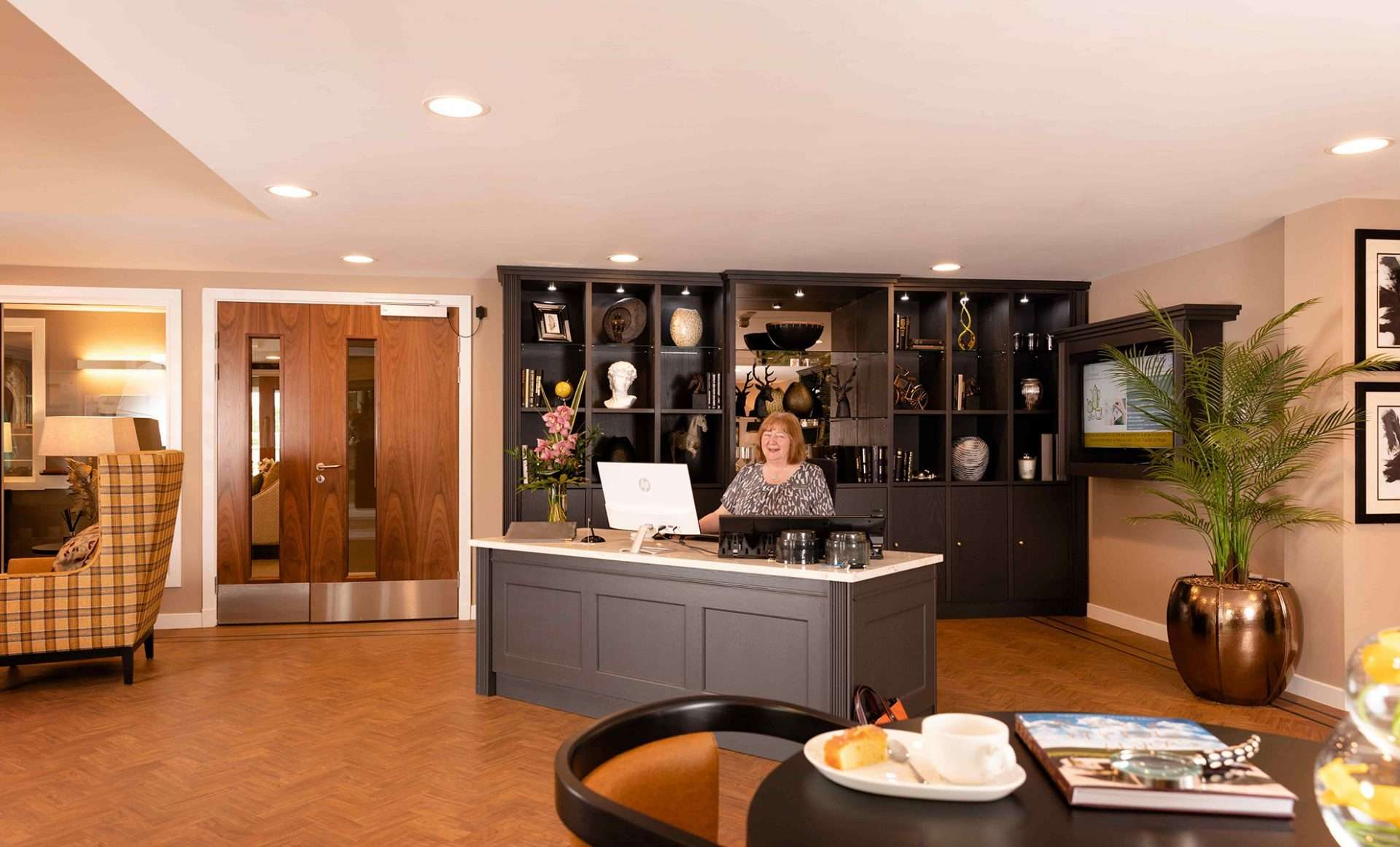 The Cramond Residence Care Home Edinburgh Reception