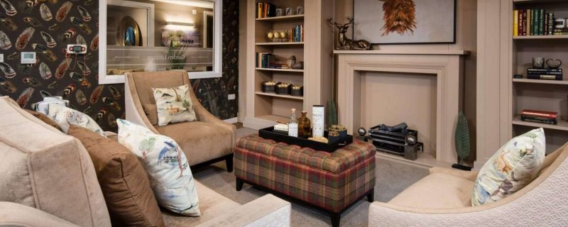 Luxury lounge at Cramond Residence