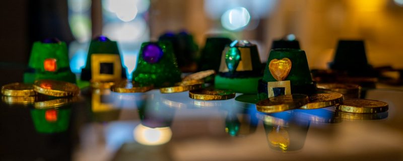 Decorations from our St Patrick's Day party