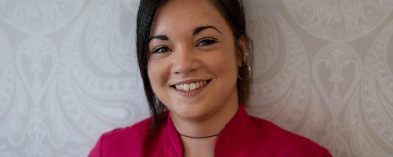 Athena Liakeas, a Lifestyle Coordinator at the Residence