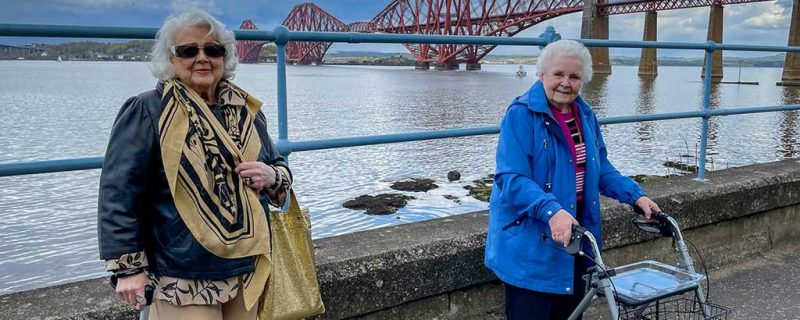 Residents at Queensferry